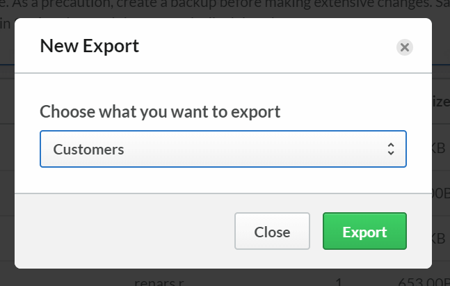 1 - Export Customers from Lightspeed