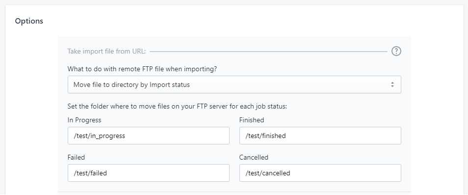 1 - delete move file ftp improt shopify excel csv migration bulk update Matrixify (Excelify)