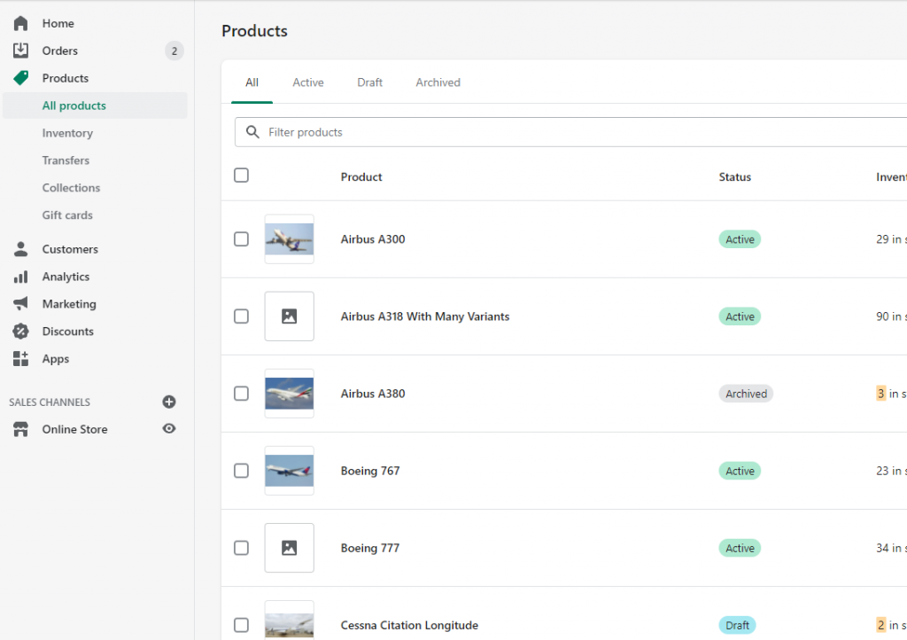 1 - export and delete hide Shopify products without images Matrixify Excel XLSX CSv
