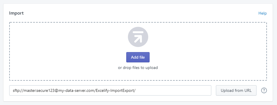 1 - import multiple files to shopify from ftp sftp server directory excelify csv excel