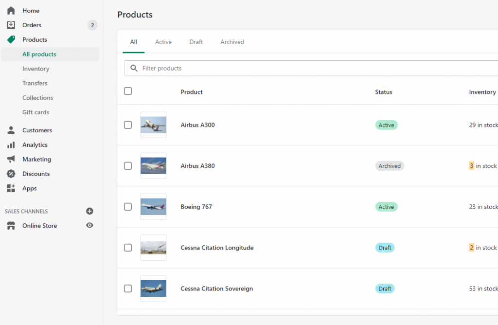 10- export and delete hide Shopify products without images Matrixify Excel XLSX CSv