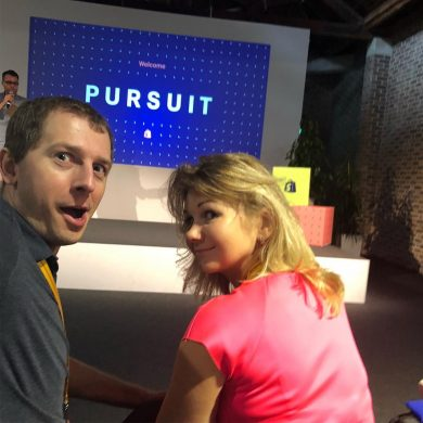 Excelify.io team attending Shopify Pursuit conference in London