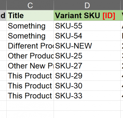 Force identify product by sku featured Force identify product by sku
