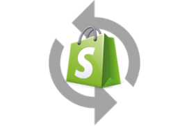 |Export Shopify|Scheduled Shopify Export|Shopify export history|||Export for Backup all data|Data format for Backup|Backup options|Start backup|Scheduled backup - all data