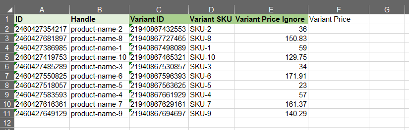 3 - Shopify import ignore custom columns