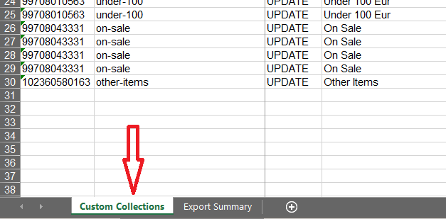 3.2 - Import Shopify Smart Collections as Custom Collections
