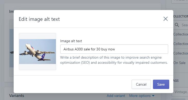 6 - bulk update image alt text excelify excel csv Shopify