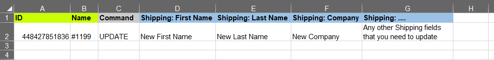 8 update shopify orders in bulk customer shipping address