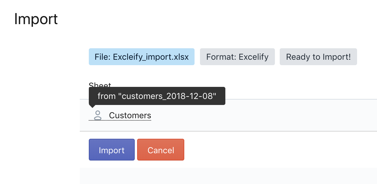 Auto-detect import data sheets for Shopify