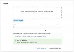 Shopify Bulk Update Handles