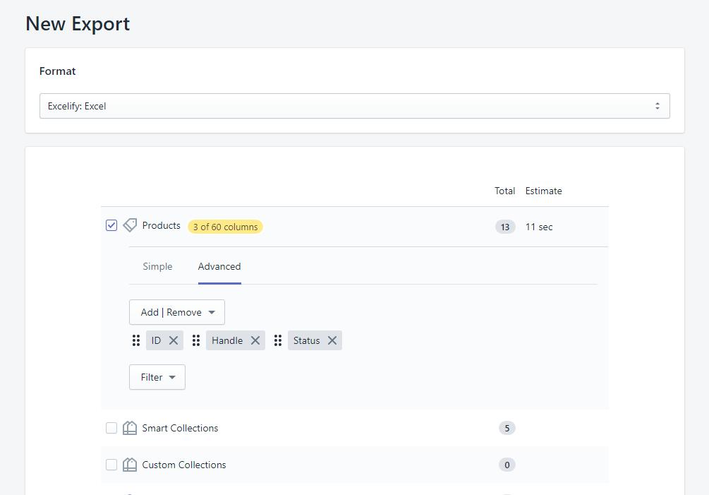 Bulk update Shopify product Status 1.1
