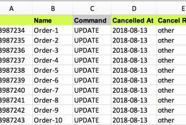 Cancel Shopify Orders in bulk
