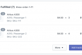 Fulfilled Shopify Order