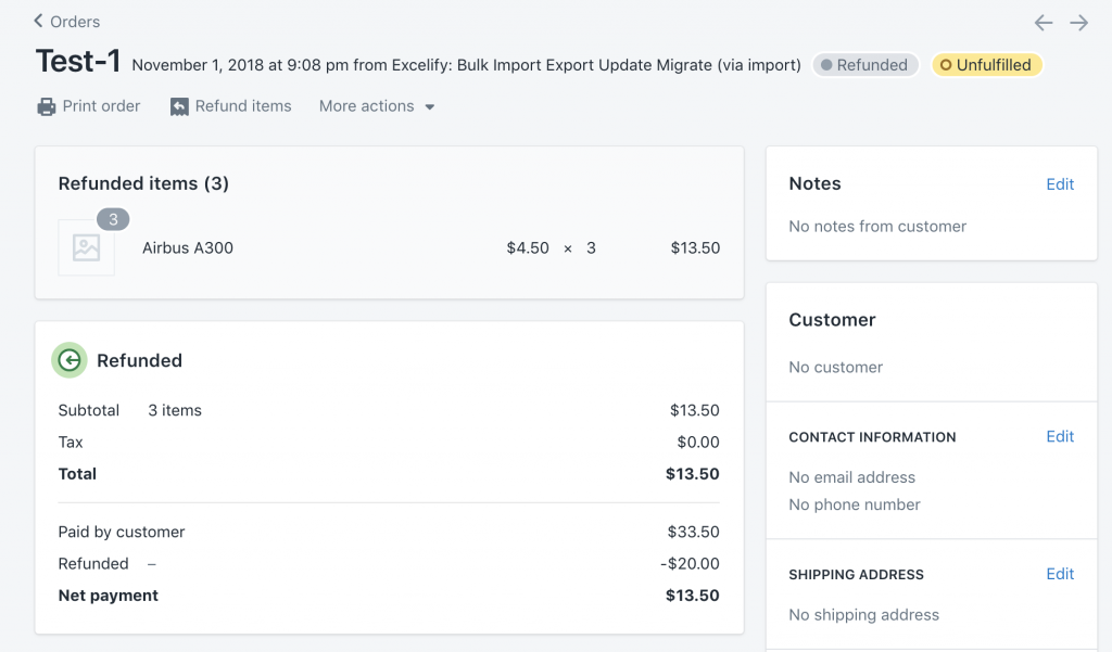 Import Shopify Order transactions - void previous and create new capture payment