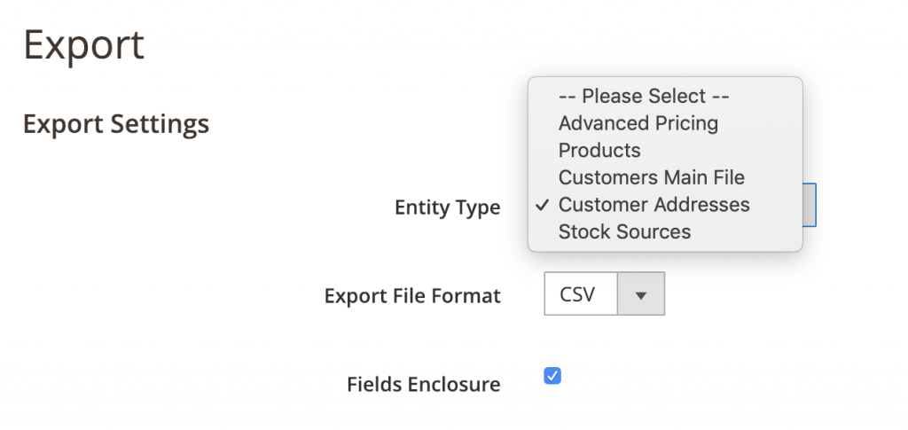 Magento v2 Customers migrate to Shopify - Export Customers Address