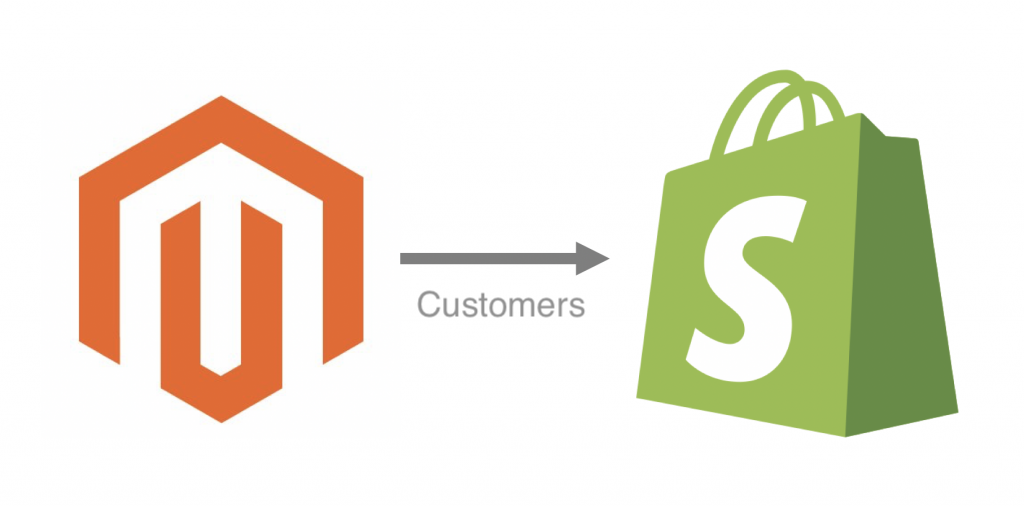 Migrate Customers from Magento to Shopify