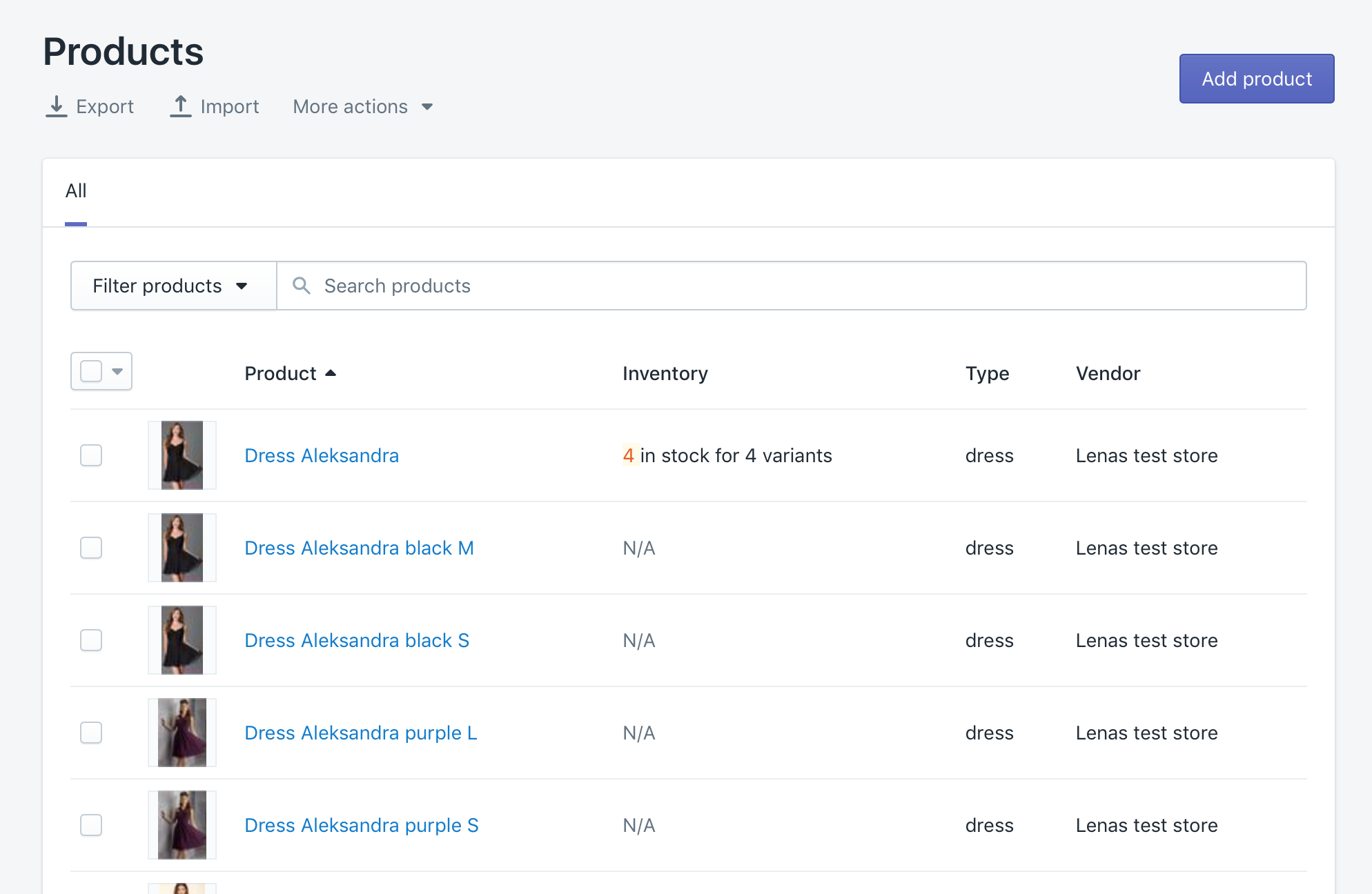 Shopify group products without variants into fewer products with variants
