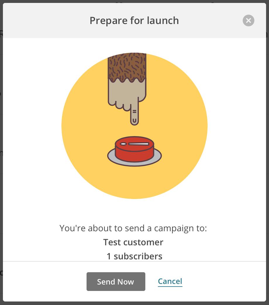 Send campaign