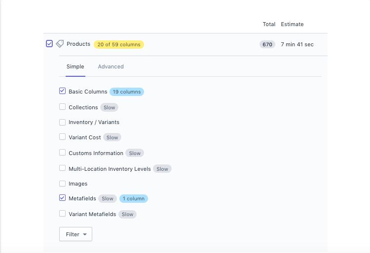 Bulk update Shopify SEO Title and Description Metafields CSV Excel Excelify