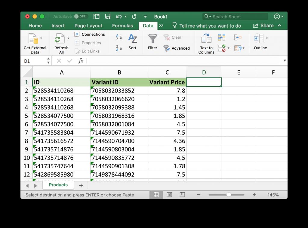Schedule Shopify Price Updates - Bulk Import Export Update