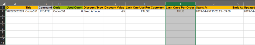 Limit discount once per order Shopify